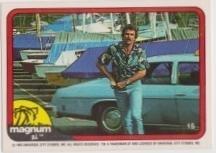 1983 Donruss MAGNUM P.I. #15
