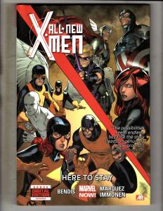 HERE TO STAY All New X-Men Vol. # 2 HARDCOVER Marvel Comics Graphic Novel J330