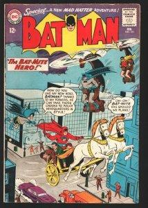 Batman #161 1964-DC-Bat-Mite & Mad Hatter appear-FN-