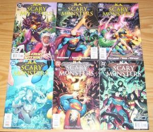 JLA: Scary Monsters #1-6 VF/NM complete series - chris claremont - art adams set