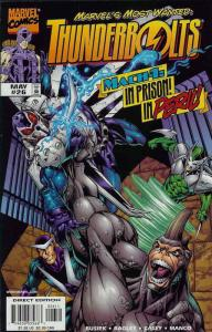 Thunderbolts #26 VF/NM; Marvel | save on shipping - details inside