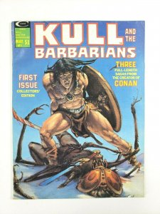 KULL and the Barbarians #1 Comic Magazine 1975 Neal Adams Gil Kane & more