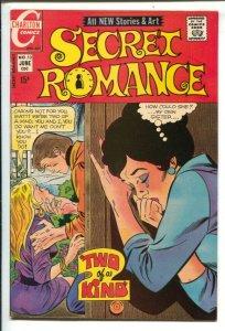 Secret Romance #13 1971-Charlton-rock festival story-FN