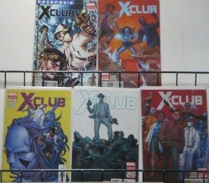 X-CLUB (Marvel, 2011) #1-5 COMPLETE! VF-NM Simon Spurrier, Paul Davidson