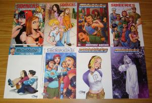 Sidekicks #1-3 VF/NM complete series + preview + (2) variants + (2) one-shots