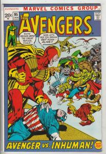 Avengers, The #95 (Jan-72) VF/NM High-Grade Avengers