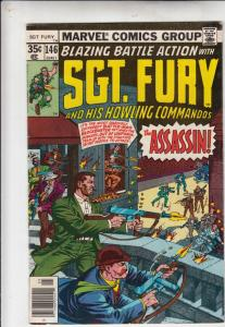 Sgt. Fury and His Howling Commandos #146 (May-78) VG/FN+ Mid-Grade Sgt. Fury,...