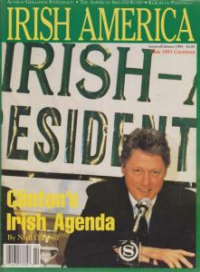 Irish America Magazine (vol. 9) #1 FN; Irish America | save on shipping - detail
