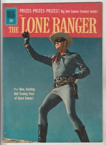 Lone Ranger, The #140 (Jul-61) FN/VF+ High-Grade The Lone Ranger, Tonto, Silver