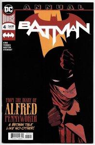 Batman Annual #4 Diary Of Alfred Pennyworth (DC, 2019) NM
