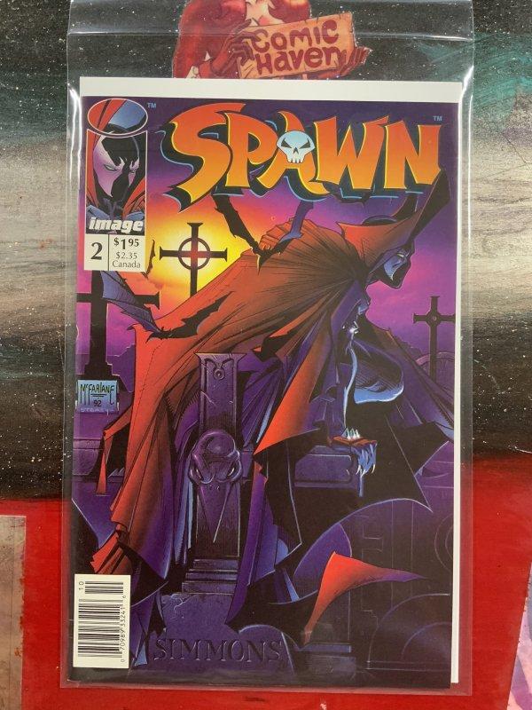 Spawn #2 Newsstand Edition