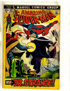 Amazing Spider-Man # 109 VF- Marvel Comic Book Lizard Mary Jane Kingpin RS1
