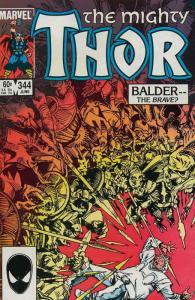 Thor #344 FN; Marvel | save on shipping - details inside