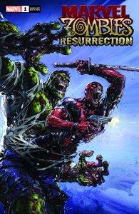 Marvel Zombies Resurrection #1 Clayton Crain Variant