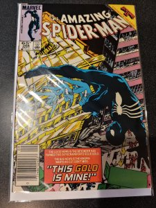 AMAZING SPIDER-MAN #268  EARLY BLACK COSTUME APPEARANCE