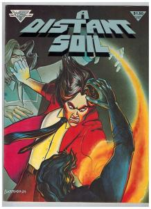 A Distant Soil # 2 VF/NM Warp Graphics Comic Book Magazine Issue 1984 Series S74