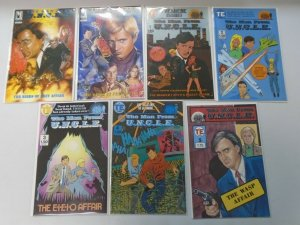 The Man from U.N.C.L.E 2 sets 13 different issues 6.0 FN (1987-93)