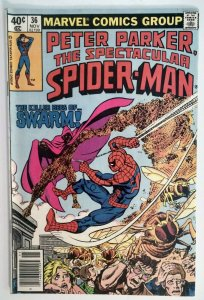 Peter Parker, Spectacular Spider-Man #36 RARE MARK JEWELERS EDITION