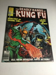 The Deadly Hands Of Kung Fu Vf Very Fine 8.0 Magazine