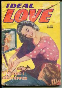 IDEAL LOVE 5/1958-COLUMBIA-GOOD GIRL ART-LATE PULP MAGAZINE-TV SET-HISTORIC-good