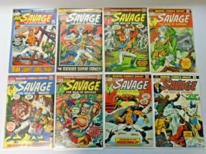 Doc Savage set #1 to #8 Pulp 4.0 VG (1972)