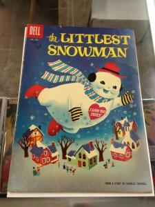 Dell Comics Four Color 755  The Littlest Snowman GD  (Dec. 1956)