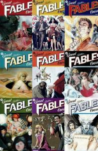 GREAT FABLES CROSSOVER (2009 VERTIGO)Parts1-9 COMPLETE!