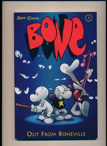 Cartoon Books Jeff Smith BONE Out from Boneville GN (1996) ~ VF/NM (PF168)