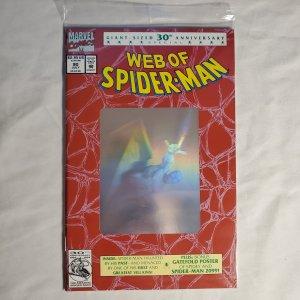 Web of Spider-Man 90 Very Fine+ Inks by Sam DeLaRosa