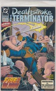 Deathstroke the Terminator #22 (1993)