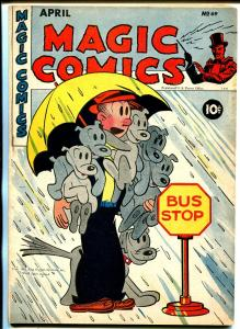 Magic #69 1945-McKay-Mandrake-Dagwood-Popeye-Lone Ranger-Blondie-Ray Crane-VF-
