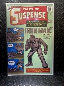 Tales of Suspense: Iron Man #39 | Comic Book Cover Replica | 11x17 Poster