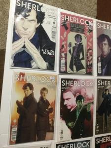 Sherlock A Study In Pink 1 2 3 4 5 A B C D E Covers Variants 17 Total Nm IK
