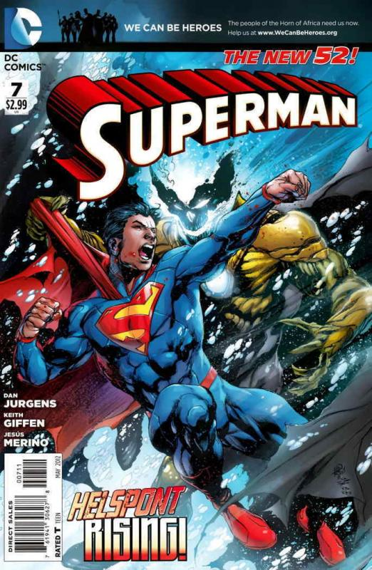 Superman (3rd Series) #7 VF/NM; DC | save on shipping - details inside