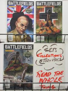 BATTLEFIELDS (Dynamite, 2009) #4-6 VF-NM The Firefly and his Majesty complete