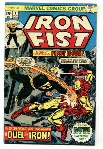 Iron Fist #1 1975-BRONZE AGE MARVEL KEY-first Issue-iron Man vg
