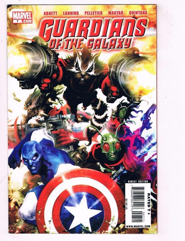 Guardians Of The Galaxy # 7 NM- 1st Print Marvel Comics