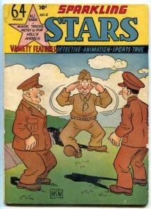 Sparkling Stars #6 1944-Holyoke Golden Age Comic- Stormy Daye VG/F
