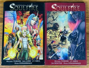 SOULFIRE VOLUME 1 PART 1 & 2 TPB SET MICHAEL TURNER Jeph Loeb FIRST PRINT Comics