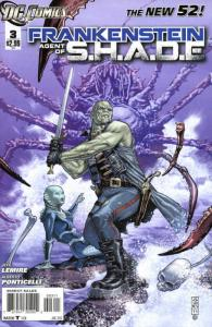 Frankenstein, Agent of S.H.A.D.E. #3 FN; DC   save on shipping - details inside