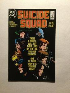 Suicide Squad 1 Near Mint Nm 1987 Series Dc Comics