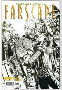 FARSCAPE #3, VF+, Variant Sketch cover, Scorpius, Baby, 2009, more in store