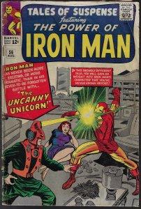 Tales of Suspense #56 (Marvel, 1964) G/VG - KEY 1st Unicorn