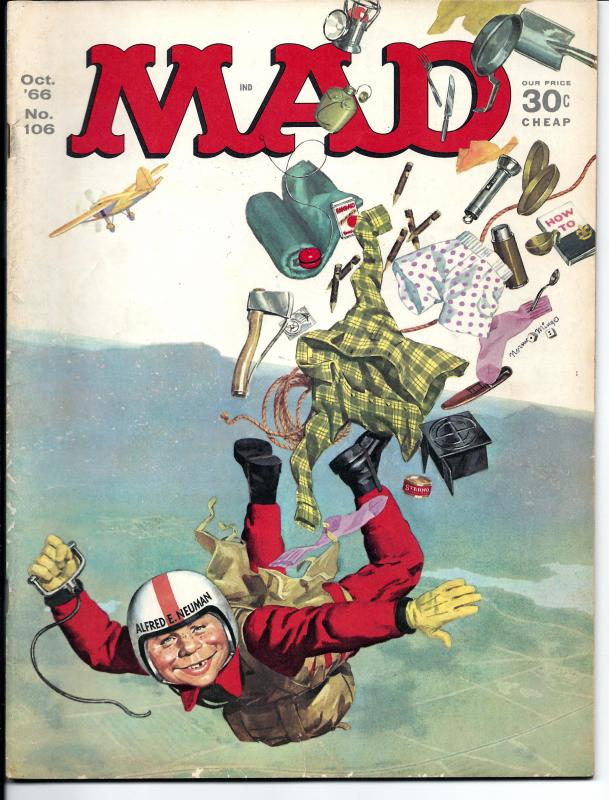Mad No. 106, , Oct, 1966 (FN)