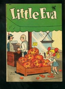 LITTLE EVA #4 1952-HALLOWEEN COVER-ST JOHN COMICS-very good