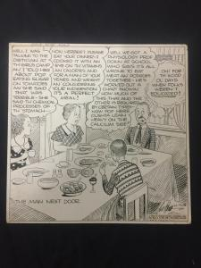 Ed Dodd Back Home Again Original Newspaper Comic Art 10/9/36