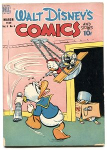 Walt Disney's Comics and Stories #102 1949- Donald Duck VG-