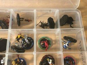 Marvel Heroclix 35 Figures UNIVERSE Wolverine Hobgolbin Spider-Man Game MFT4