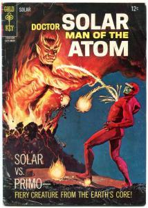 DOCTOR SOLAR MAN OF THE ATOM #17 1966-GOLD KEY-DEMON G/VG
