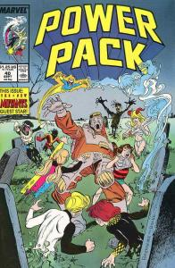 Power Pack #40 VF; Marvel   save on shipping - details inside